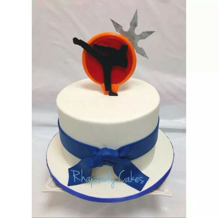 Martial Art Cake Ideas : Martial Arts cake Cakes for kids Pinterest
