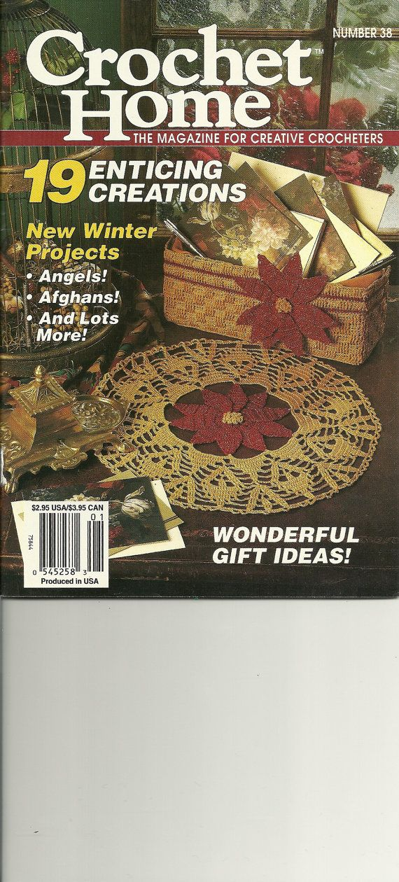 Crochet Home Magazine : 38 - Crochet Home magazine, crochet patterns, winter projects, gift i ...
