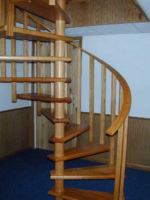 Wooden Spiral Staircase Ideas For The New House Pinterest How To Build  Wooden Spiral Staircase