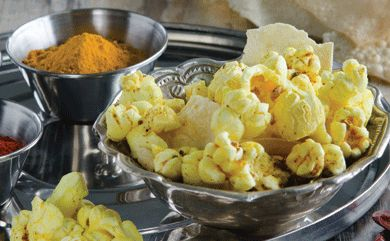 Indian Spiced Popcorn | foodies | Pinterest