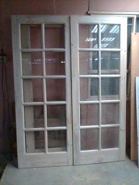 Pin pin puerta interior las puertas interiores for Puertas para patio exterior