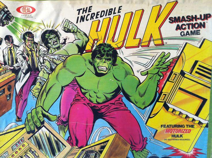 incredible hulk smash board game