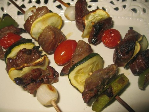 Marinated Honey Beef Kabobs | Favorite Recipes | Pinterest