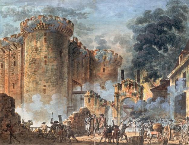 storming of bastille july 14 1789