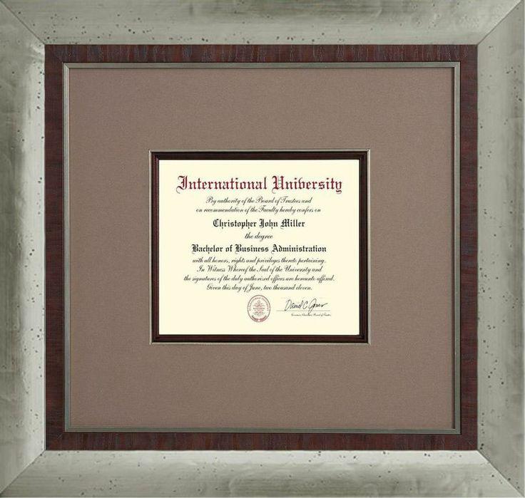 Diploma Framing - Proga   Info