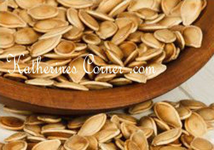 toasted pumpkin seeds | Recipes From Katherine's Kitchen | Pinterest