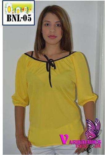 Blusas manga largas camisas casuales blusones tallas unica en