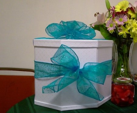 Amazon.com: Martha Stewart Gift Card Box, White Eyelet: Arts, Crafts ...