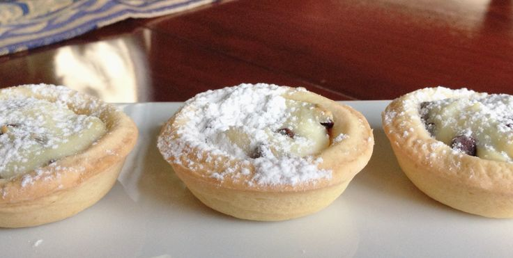 Sweet Ricotta Tart Recipe — Dishmaps