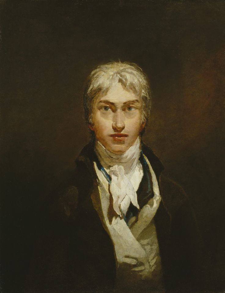 Autorretrato de William Turner