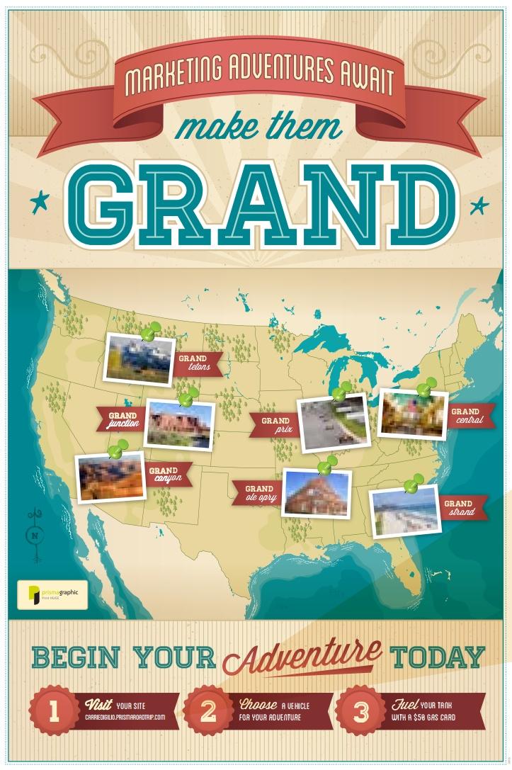 Prisma Graphic Road Trip PURL Poster   Maps   Pinterest: pinterest.com/pin/173599760608766991