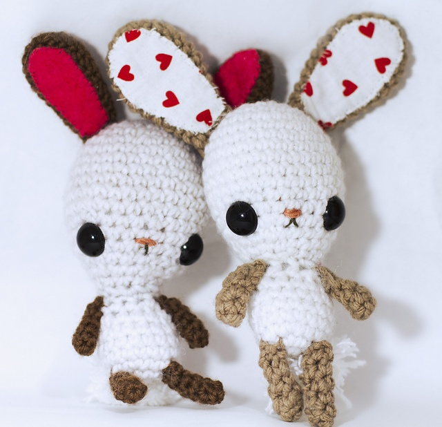 Kawaii Amigurumi Free Patterns : Kawaii Bunny Amigurumi pattern by Crissy Maciel