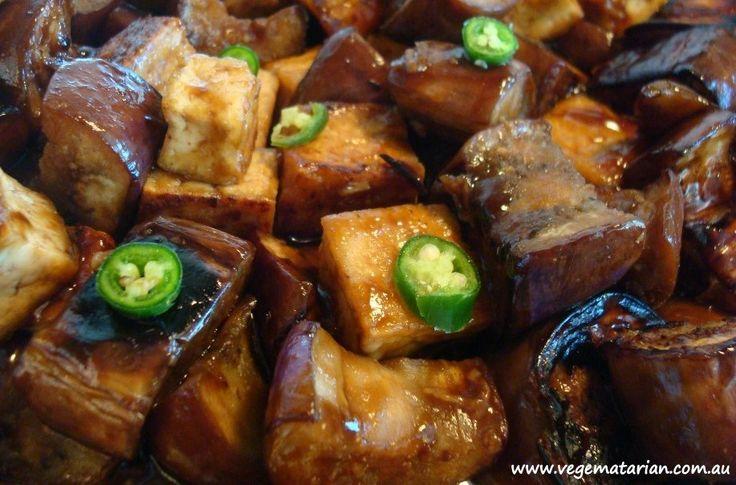 Miso Eggplant Stir Fry | FOOOD! | Pinterest