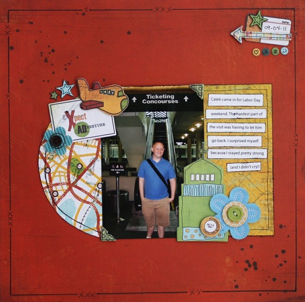 awesome scrapbook page! | Scrapbooking | Pinterest