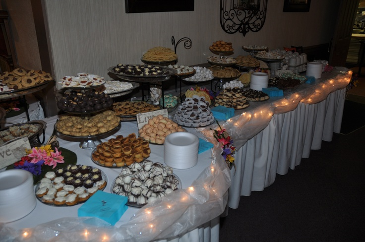 Wedding Cookie Table Ideas
