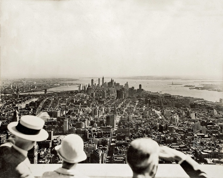 Empire State Building opening, May 1, 1931