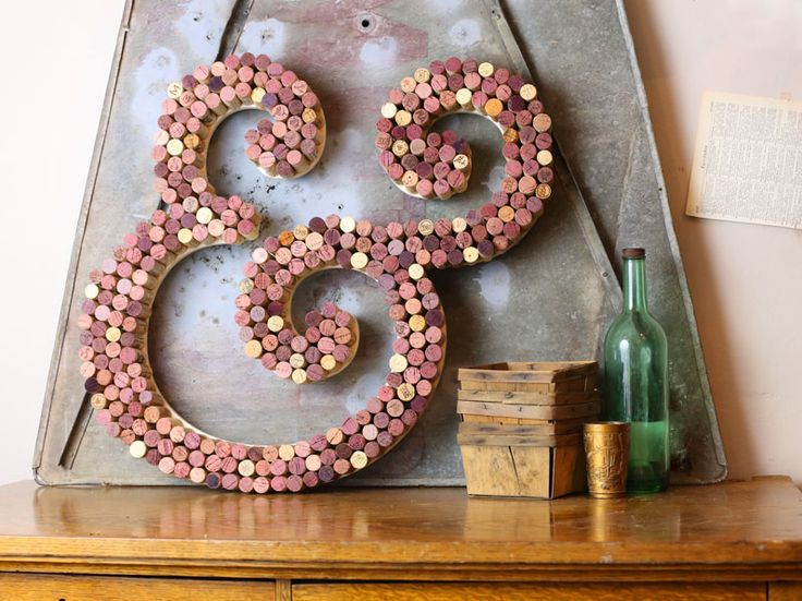 Ultimate guide to diy decorative letters for Wine cork crafts guide