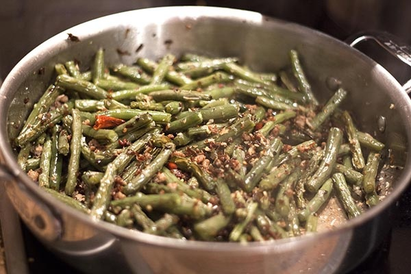 Dry-fried string beans | Food | Pinterest