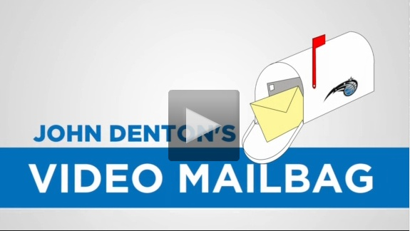 OrlandoMagic.com's John Denton answers a variety of questions from the fans: http://www.nba.com/magic/video/jd-mailbag_082912