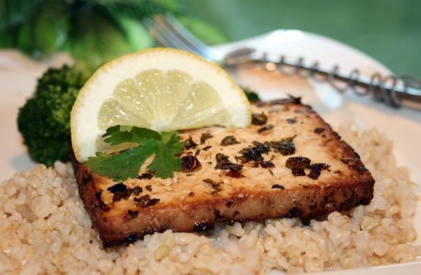 Lemony Baked Tofu Recipe - Food.com - 366037