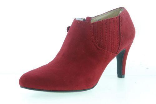Ellen-Tracy-1212MSU1804-Fashion-Boots-Women-RED-Shoes-Sz-5-5-M