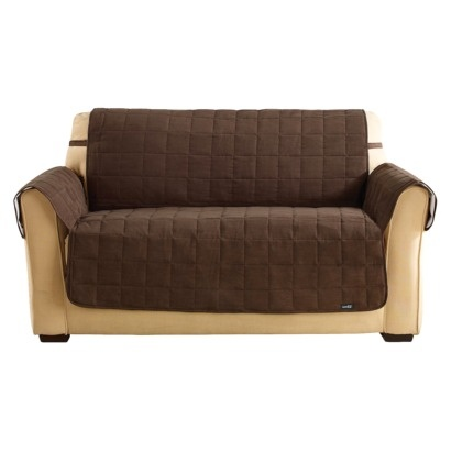 Sure Fit Quilted Suede Waterproof Furniture Friend Sofa