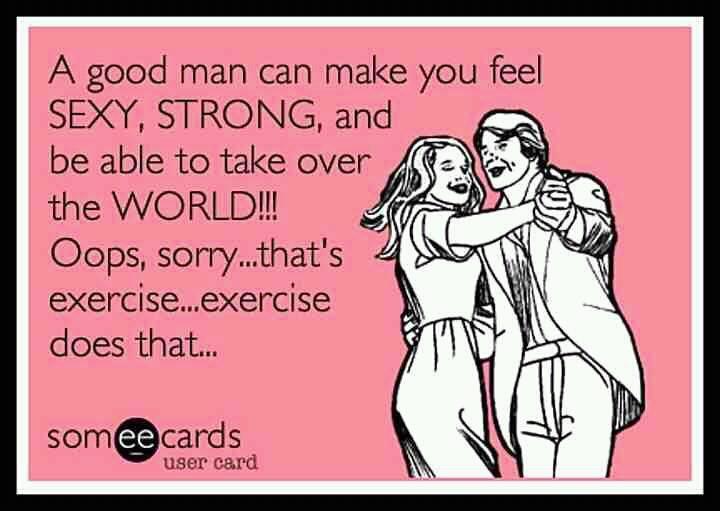 Haha! Who needs a man??