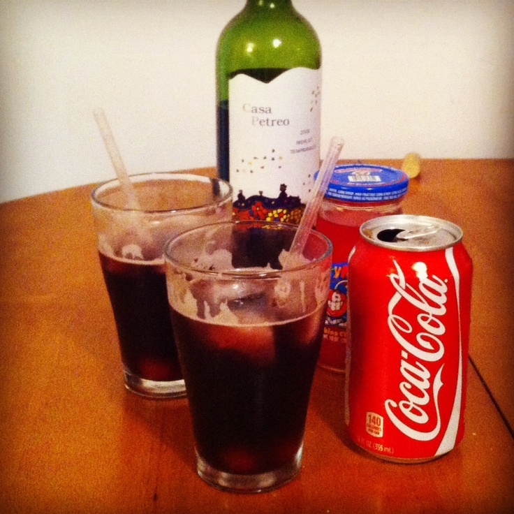 Kalimotxo: It's Basque For Red Wine And Coke. Apparently great and ...