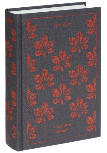Yes Jane Eyre with an awesome cover.