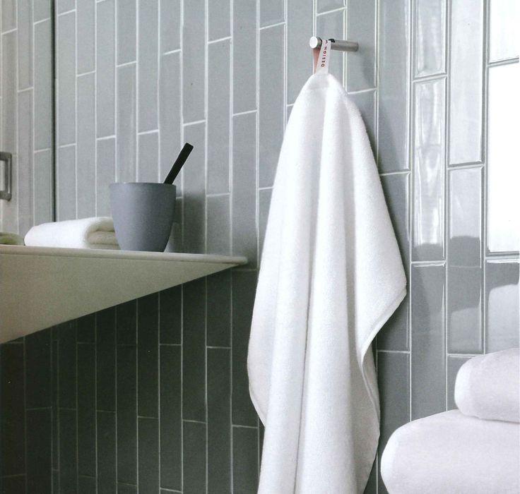 Vertical Subway Tile Bathroom Remodel Pinterest
