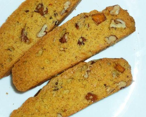 Pumpkin-Pecan Biscotti   The Fresh Loaf   cakes & desserts   Pinterest
