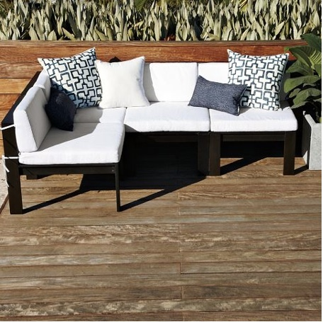 Outdoor Sectional From West Elm Patio Garden Pinterest