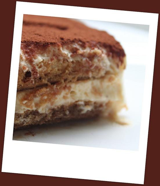 Irish Cream Tiramisu, From Nigella Lawson.