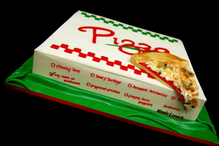 25 Pizza Cakes For The Best Pizza Party Ever 972fad3e9b0696aebe37d950e79a71eb jpg