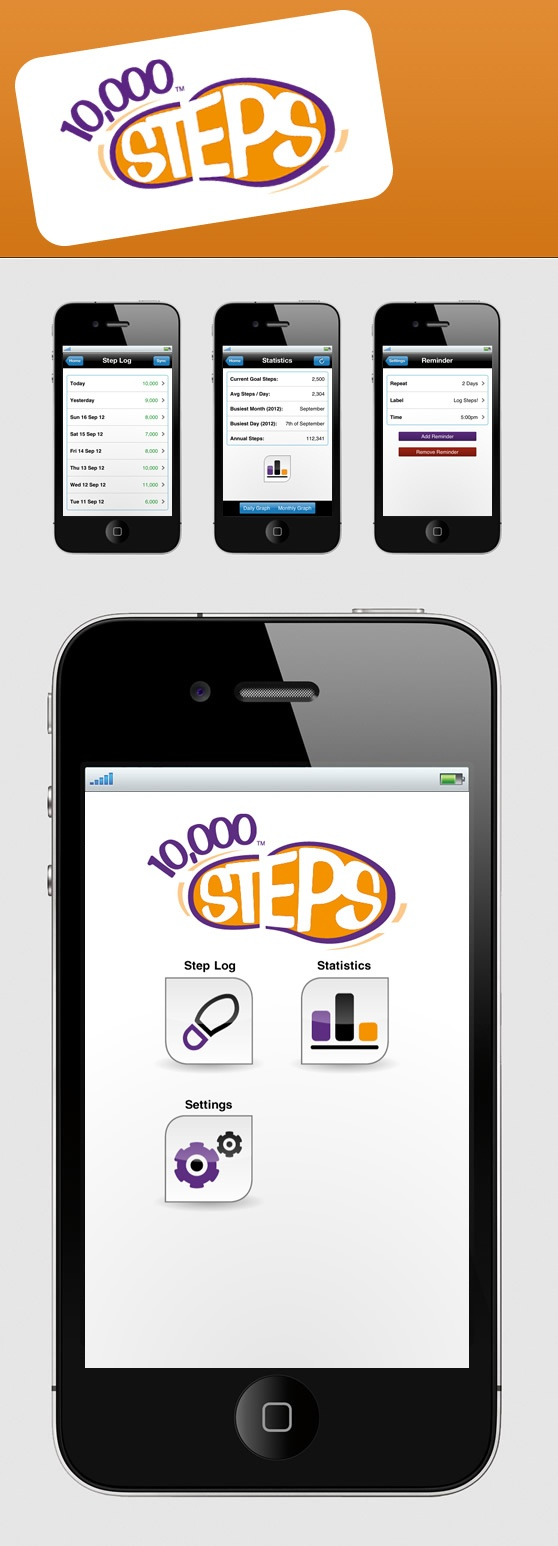 step tracker app iphone 6