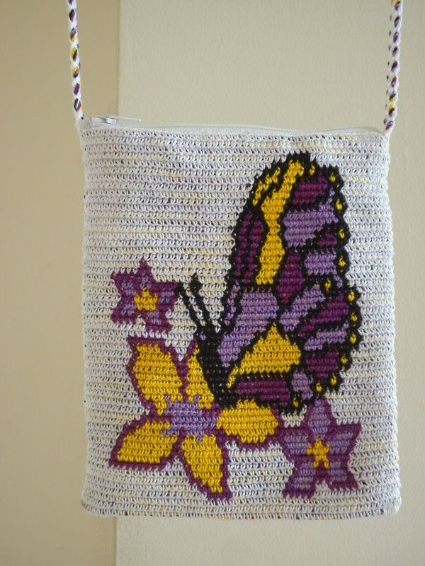 Tapestry Crochet Bag : Tapestry Crochet Bag Graph Crochet Pinterest