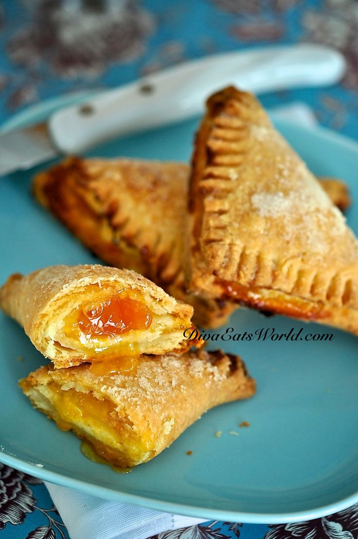 Cream Cheese Pastry filled with Guava Paste. Could use this dough for ...