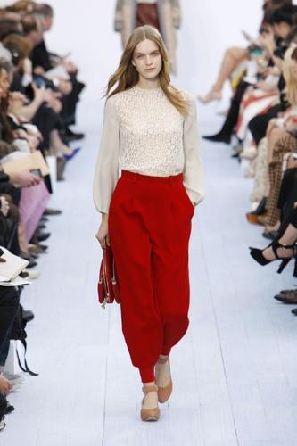 Paris Fashion Week Fall 2012: Chloe