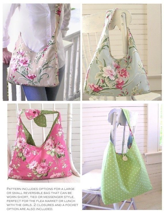 easy purse pattern for beginners Darling Reversible by terbearco, $9 ...