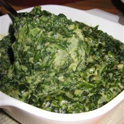 Creamed Spinach II Allrecipes.com