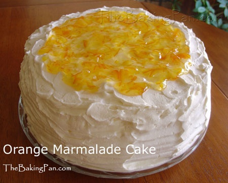 MUST bake this Orange Marmalade cake this month! @Jeni Baker told me ...