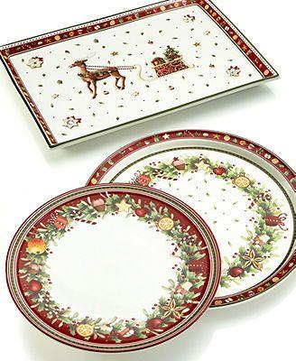 Villeroy boch winter bakery dinnerware collection - Villeroy boch vajillas ...