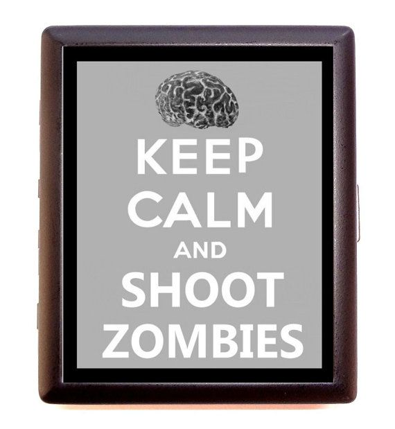 Keep calm and shoot zombies horror goth parody by sweetheartsinner 9