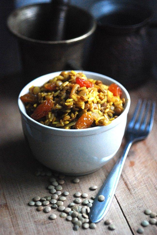 Arabic Pilaf with Lentils and Raisins | Healthier Recipes* | Pintere ...