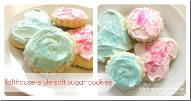 Lofthouse-Style Soft Sugar Cookies from mama♥miss
