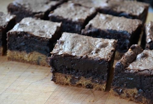 Slutty Brownies | Coupla a things I've been craving | Pinterest