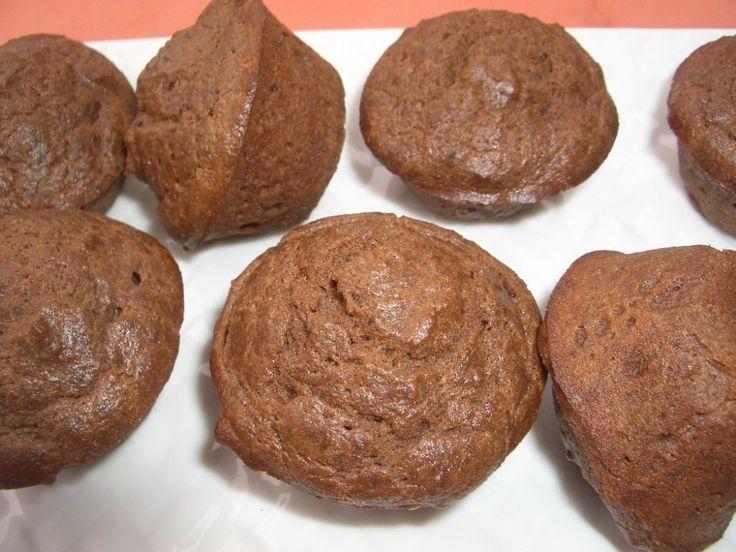Chocolate Coconut Flour Muffins keto | Low carb | Pinterest