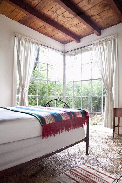floor to ceiling casement windows
