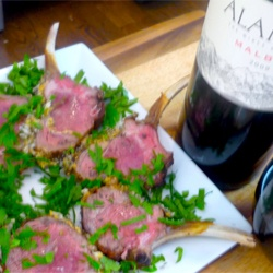 Roasted Rack of Lamb Recipe with Herb Bread Crumbs | Recipe