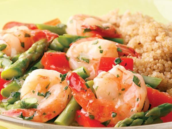 Lemon-Garlic Shrimp & Vegetables | KitchenDaily.com